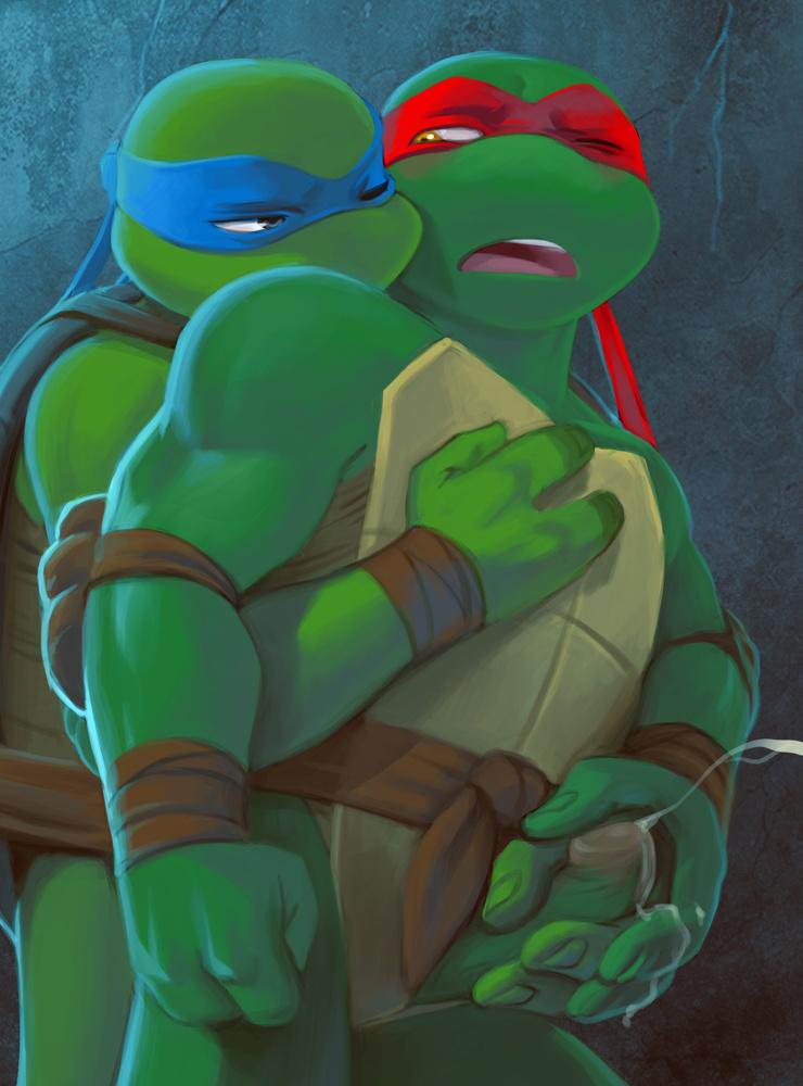 turtles ninja mutant from teenage april naked Seikou! osananajimi wa terekusasou ni uso wo tsuku