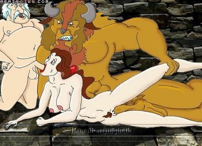 beast fifi and the human beauty Hyakuren-no-haou-to-seiyaku-no-valkyria