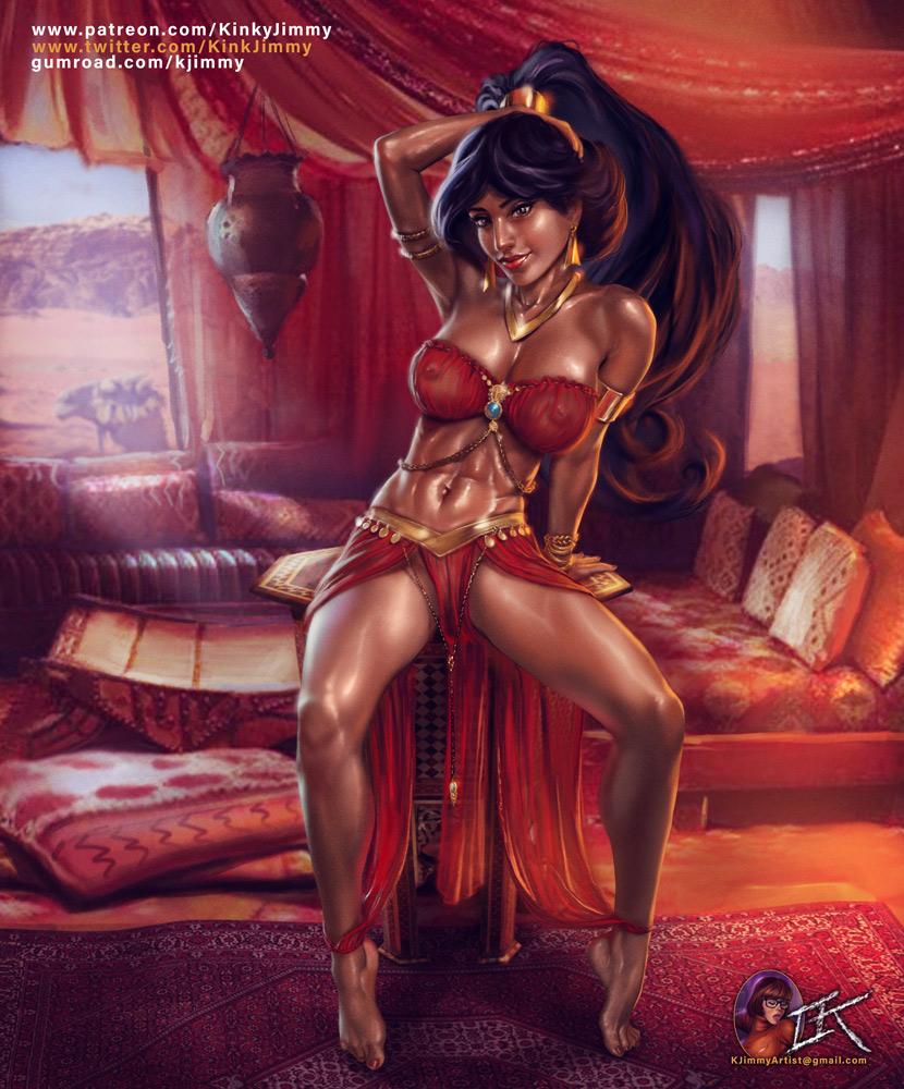jasmine nude jafar with princess Bill cipher and yung venuz