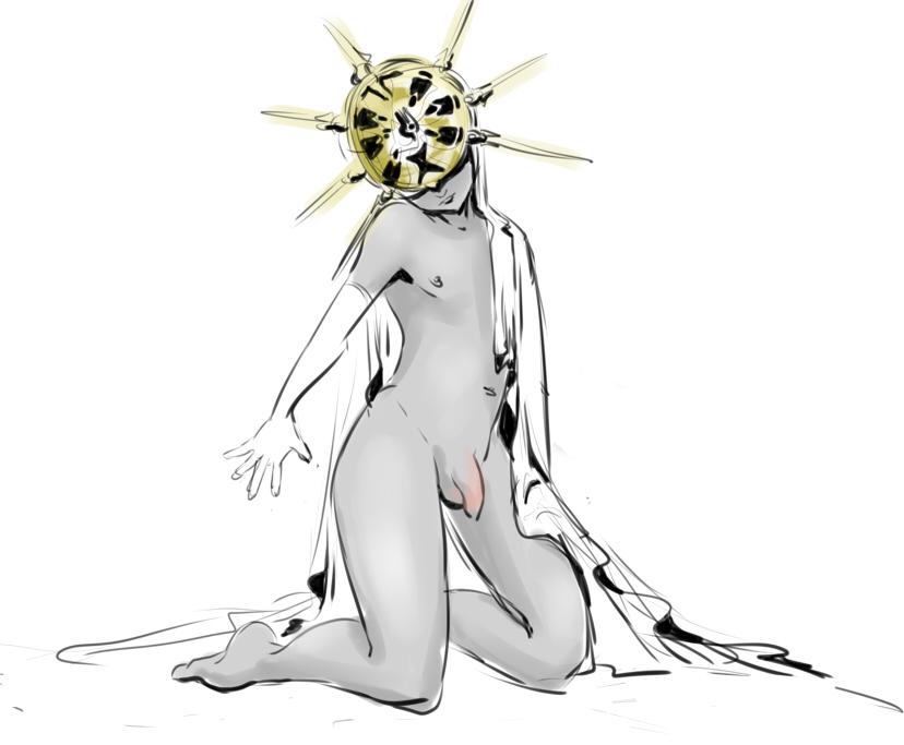 souls lady 3 dark friede Breath of the wild guardian comic