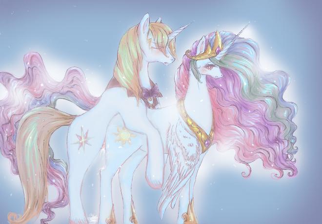 pony little my princess skystar Kaho blend s