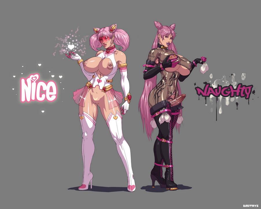 mistress and lady 9 black Azusa ranma 1/2