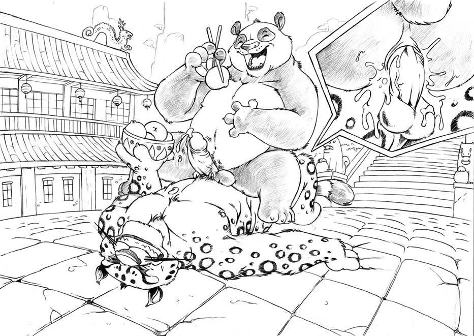 fu kung tigress panda feet Fanboy and chum chum wizard