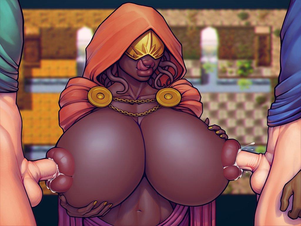boobs big boobs big big boobs My hero academia toga fanart