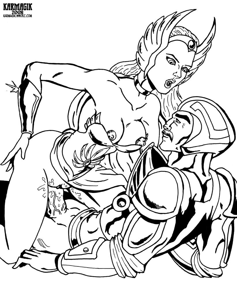 glimmer ra adora and she Godlike naruto dbz crossover fanfiction