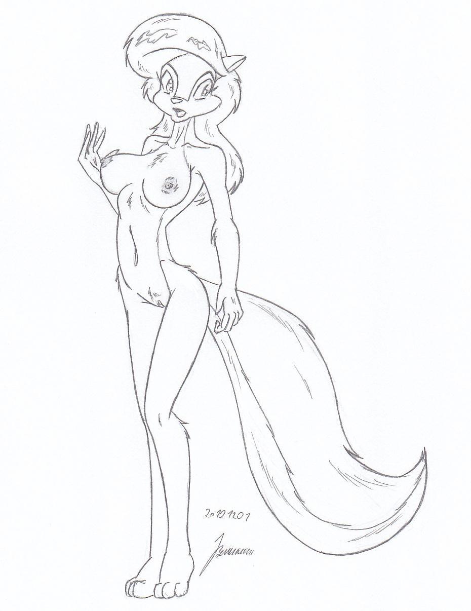 the nude foamy squirrel germaine Legend of zelda medli hentai