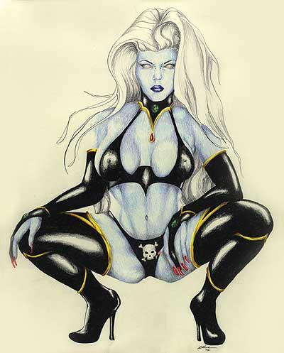 death lady marvel Metal gear solid 3 time paradox