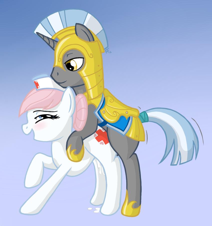 my comics pony little League of legends vi x caitlyn
