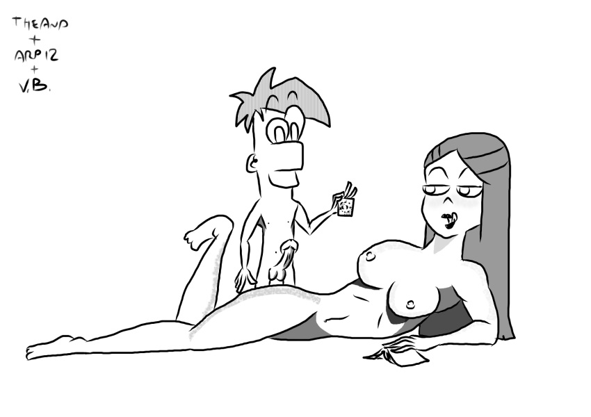 ferb mitch and big phineas Tentacruel is interested in your mom