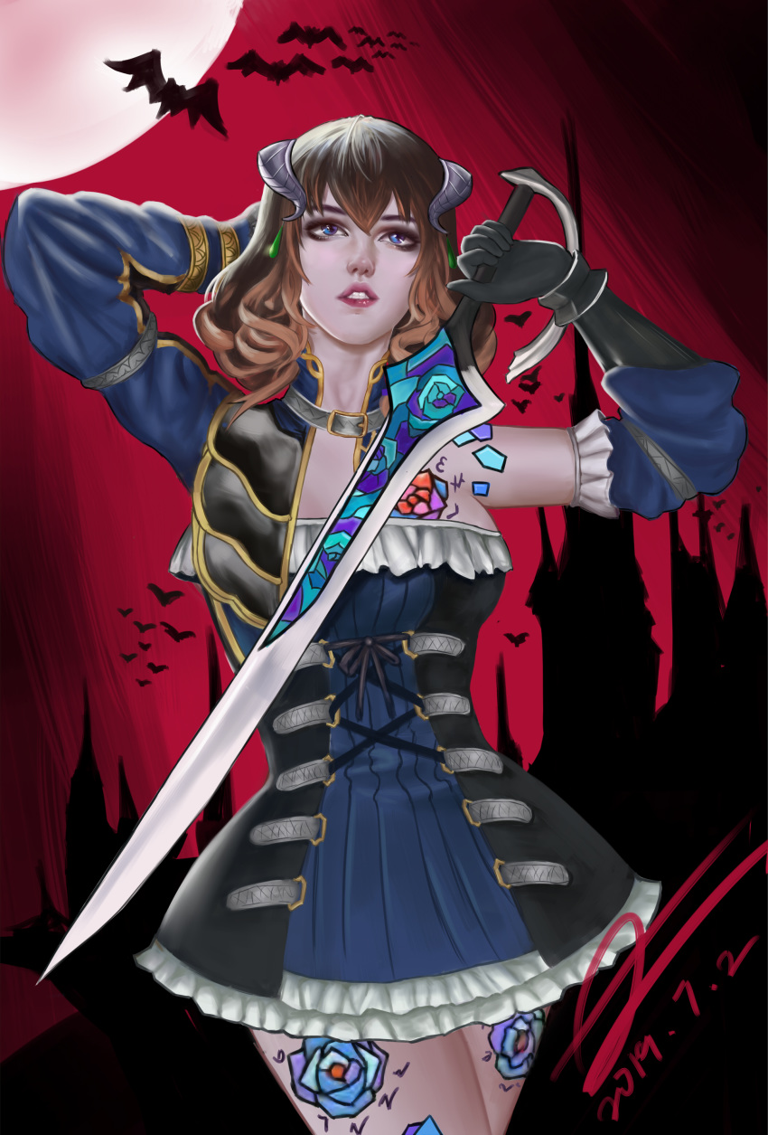 the ritual miriam night of hentai bloodstained Fire emblem anna