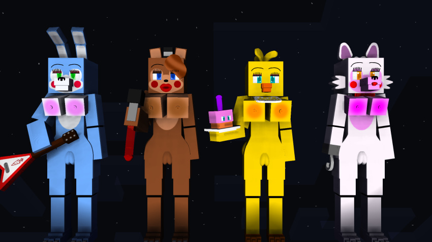 toy x fanfic toy chica bonnie Rick and morty beth smith nude