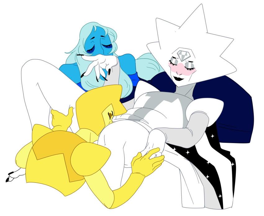 yellow x blue diamond diamond Arbeit shiyou!! let's arbeit!