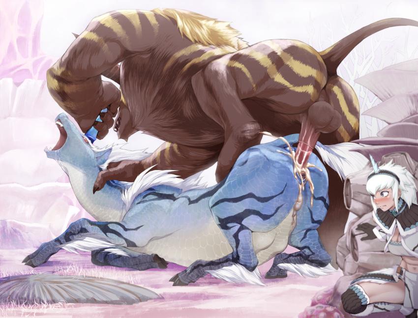 monster hunter armor deviljho world Larry amazing world of gumball