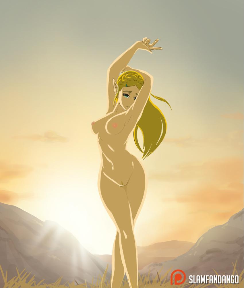 of breasts wild legend the of zelda Ben 10 ultimate alien porn