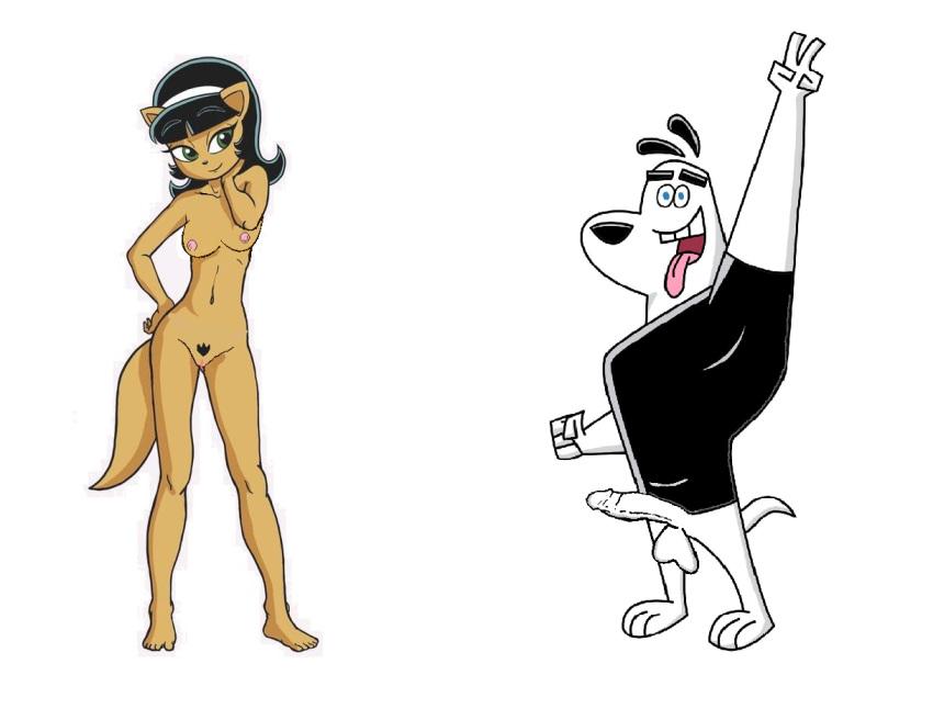 tuff katswell kitty bikini puppy Boy to girl tg animation